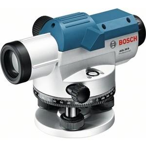 Нивелир оптический Bosch GOL 20D с поверкой (0.615.994.09X) теодолит электронный ada digiteo 10 с поверкой