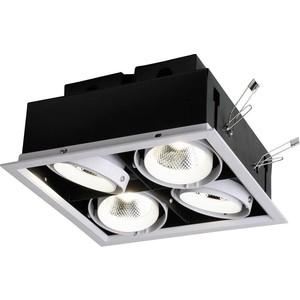 Встраиваемый светодиодный светильник Favourite 1985-4C встраиваемый светильник favourite conti 1557 1c