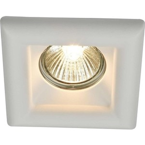 Встраиваемый светильник Maytoni DL007-1-01-W встраиваемый светильник maytoni dl281 1 01 w