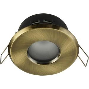 Встраиваемый светильник Maytoni DL010-3-01-BZ