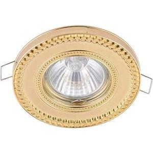 Встраиваемый светильник Maytoni DL302-2-01-G аккумуляторный фонарь эра fa6w желтый 6вт [б0008963]