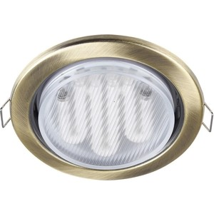 Встраиваемый светильник Maytoni DL293-01-BZ встраиваемый светильник maytoni dl293 01 g