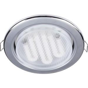 Встраиваемый светильник Maytoni DL293-01-CH встраиваемый светильник maytoni dl293 01 g