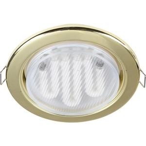 Встраиваемый светильник Maytoni DL293-01-G встраиваемый светильник maytoni dl293 01 g