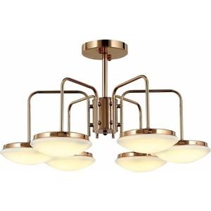 Потолочная светодиодная люстра ST-Luce SLE120.202.06 st luce люстра потолочная светодиодная st luce 1 плафон белый sl887 502 02