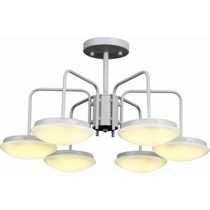Потолочная светодиодная люстра ST-Luce SLE120.502.06 st luce люстра потолочная светодиодная st luce 1 плафон белый sl887 502 02