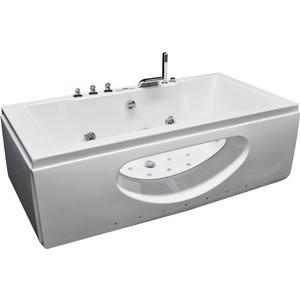Акриловая ванна гидромассажная Grossman 180x90x65 (GR-18090) акриловая ванна grossman gr 18012