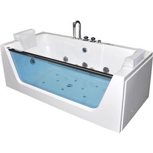 Акриловая ванна гидромассажная Grossman 170x80x60 (GR-17080) акриловая ванна grossman gr 18012