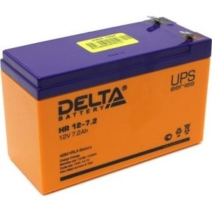Аккумулятор Delta 12V 7.2 Ah - HR 12-7.2 delta