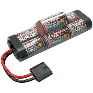 Аккумулятор TRAXXAS Ni-Mh, 7 банок, 8.4 V, 5000 mAh, Series 5 Power Cell - TRA2961X mit mh 750 us power cable 2 0m