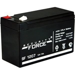 Аккумулятор Security Force 12 V 7 Ah AGM VRLA - SF1207 аккумулятор security force sf 1240
