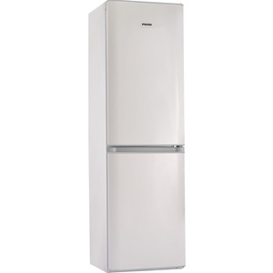 все цены на Холодильник Pozis RK FNF 172 W S белый с серебристыми накладками онлайн