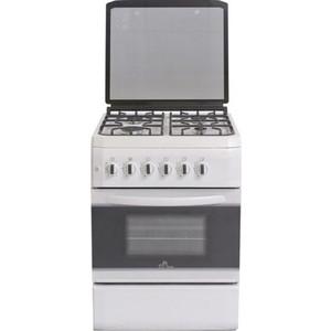 Газовая плита DeLuxe 606040.34-001г (кр) чуг реш бел