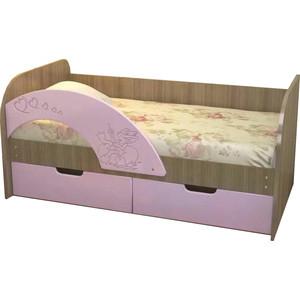 Кровать VitaMebel Витамин-7 матовый