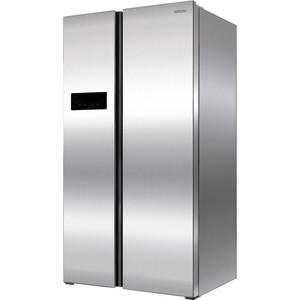 Холодильник Ginzzu NFK-605 Steel ручной пылесос handstick ginzzu vs407 90вт черный