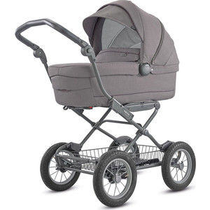 Коляска для новорожденных Inglesina Sofia на шасси Ergo Bike (AB15K6SDG + AE15H6100) SIDERAL GREY цена