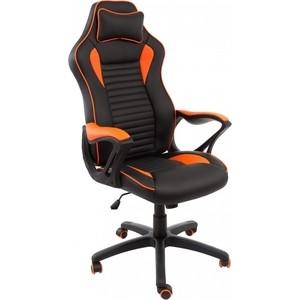 Компьютерное кресло Woodville Leon черное/оранжевое компьютерное кресло юнитекс лидер черное