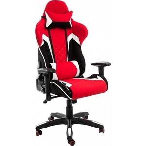 Компьютерное кресло Woodville Prime черное/красное компьютерное кресло woodville kadis темно красное черное