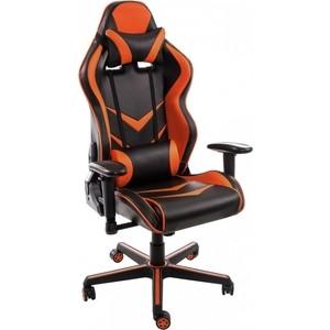 Компьютерное кресло Woodville Racer черное/оранжевое компьютерное кресло woodville kadis темно красное черное