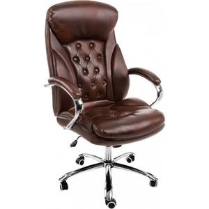 Компьютерное кресло Woodville Rich коричневое компьютерное кресло woodville kadis коричневое бежевое