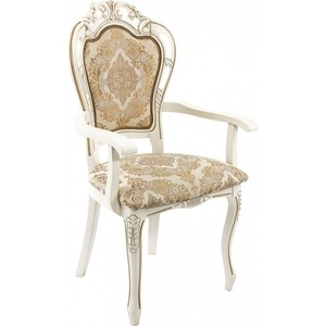 Кресло Woodville Bronte молочный. bronte ch villette
