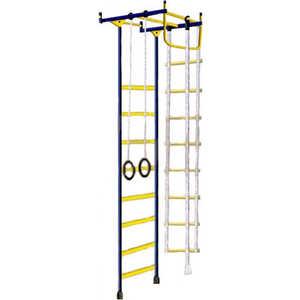 Детский спортивный комплекс Лидер Лидер-1М Г/Лидер Г-02 М зелёно-жёлтый