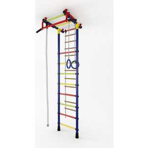 Детский спортивный комплекс Маугли 01-01 (синий/жёлтый)