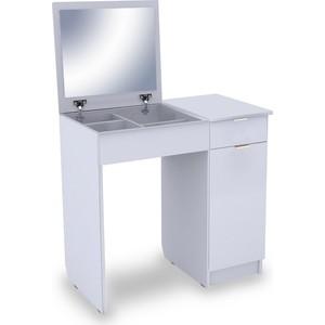 Столик туалетный Вентал Арт Римини-3 белый aquaton римини 80 белый