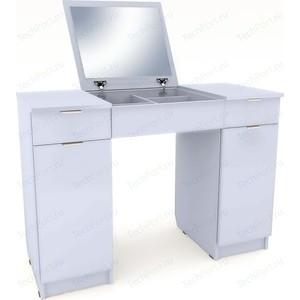 Столик туалетный Вентал Арт Римини-5 белый aquaton римини 80 белый