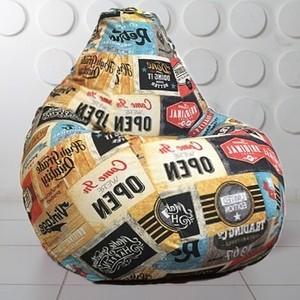 Кресло-мешок Вентал Арт Люкс L Медиум Лэйбл 01 кора сосны люкс галтованная фракция 10 20см 60л мешок