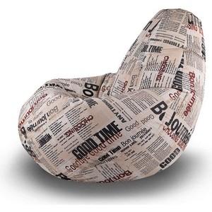 Кресло-мешок Вентал Арт Люкс XL Фреш Газета В7 кора сосны люкс галтованная фракция 10 20см 60л мешок
