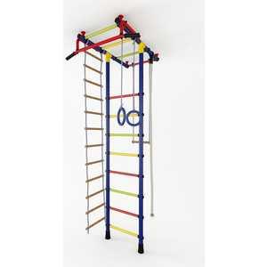 Детский спортивный комплекс Маугли 02-01 (синий/жёлтый)