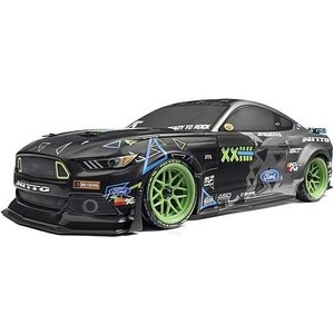 Радиоуправляемая машина для дрифта HPI Racing RS4 SPORT 3 VGJR FORD MUSTANG 4WD RTR масштаб 1:10 2.4G (HPI-115984) closed clutch cover for 1 5 hpi baja 5b 5t 5sc