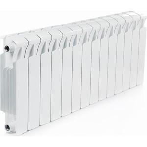 Радиатор отопления RIFAR Monolit 350 14 секций радиатор отопления алюминиевый halsen 350 80 12