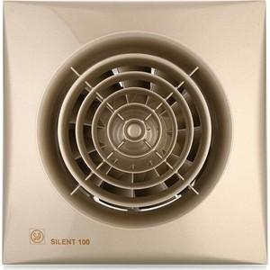 все цены на Вентилятор Soler&Palau осевой вытяжной с обратным клапаном D 100 (Silent100CZ Champagne) онлайн