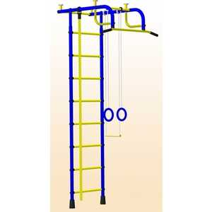 Детский спортивный комплекс Пионер 1 (синий/жёлтый)