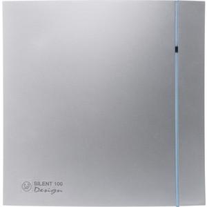 Вентилятор Soler&Palau осевой вытяжной с обратным клапаном D 100 (Silent100CZ Silver DESIGN) pastora soler benidorm