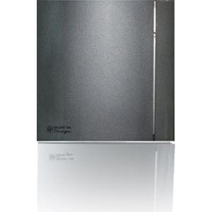 Вентилятор Soler&Palau осевой вытяжной с обратным клапаном D 100 (Silent100CZ Grey DESIGN-4C) grey sleeveless design chest cut out top