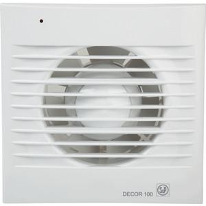 Вентилятор Soler&Palau осевой вытяжной с обратным клапаном и таймером D 100 (Decor100CR) вентилятор soler