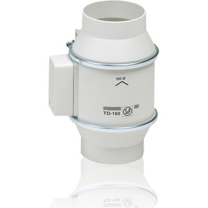 Вентилятор Soler&Palau осевой канальный D 100 (TD160/100N Silent) канальный вентилятор soler amp palau silent td 250 100 t белый 03 0101 240