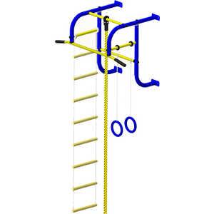 Турник настенный Пионер 5 синий/желтый пленка тонировочная mtf original 5% 0 5 м х 3 м