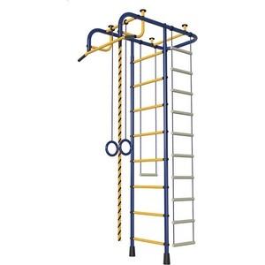 Детский спортивный комплекс Пионер М (синий/жёлтый)