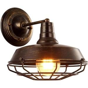 Бра Artelamp A9183AP-1BR светильник настольный artelamp woods a1010lt 1br