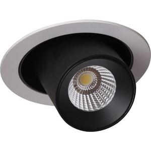 Встраиваемый светодиодный светильник Crystal Lux CLT 011C WH-BL crystal lux бра crystal lux clt 511w425 gr