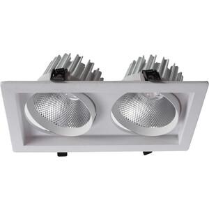 Встраиваемый светодиодный светильник Artelamp A7018PL-2WH встраиваемый светильник artelamp a9214pl 2wh