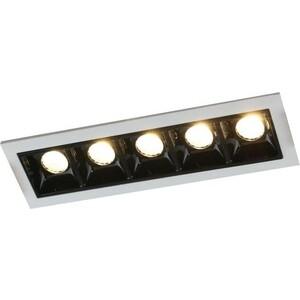 Встраиваемый светодиодный светильник Artelamp A3153PL-5BK 纽约史