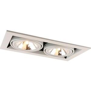 Встраиваемый светильник Artelamp A5949PL-2WH встраиваемый светильник artelamp a9214pl 2wh