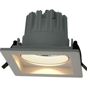 Встраиваемый светодиодный светильник Artelamp A7018PL-1WH настенный светодиодный светильник artelamp a1422ap 1wh