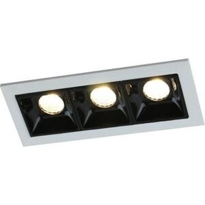 Встраиваемый светодиодный светильник Artelamp A3153PL-3BK встраиваемый холодильник electrolux enn 3153 aow