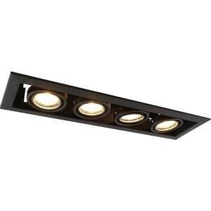 Встраиваемый светильник Artelamp A5941PL-4BK бра artelamp interior a7107ap 1ab